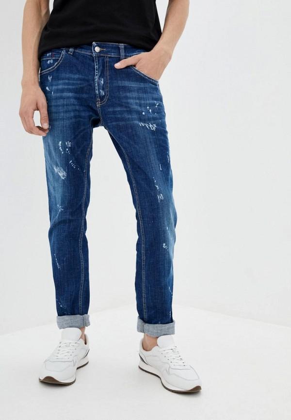 мужские прямые джинсы frankie morello, синие