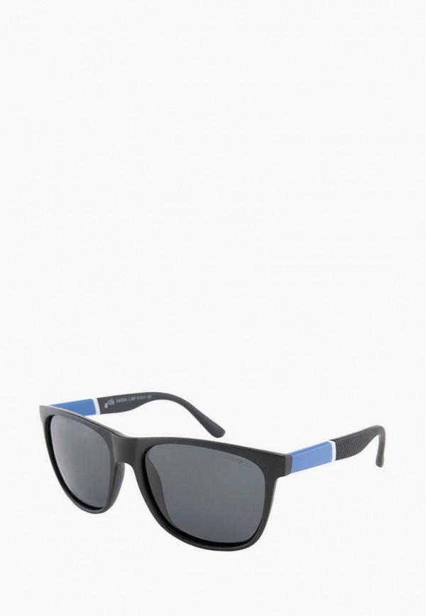 мужские квадратные солнцезащитные очки greywolf, черные