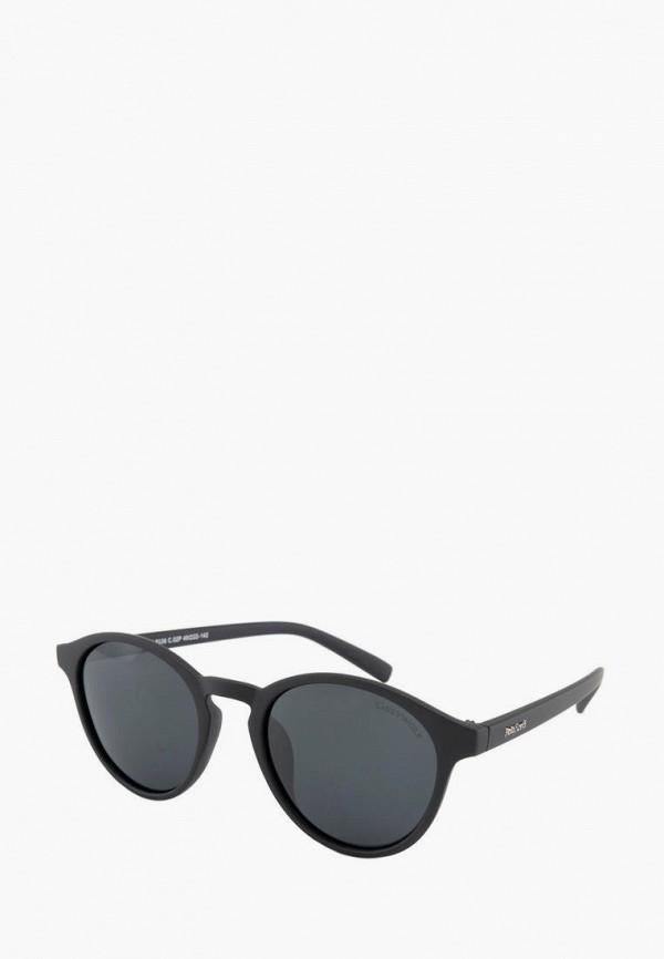мужские круглые солнцезащитные очки greywolf, черные