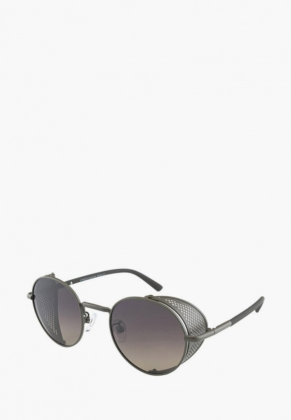 мужские круглые солнцезащитные очки matrix, серые