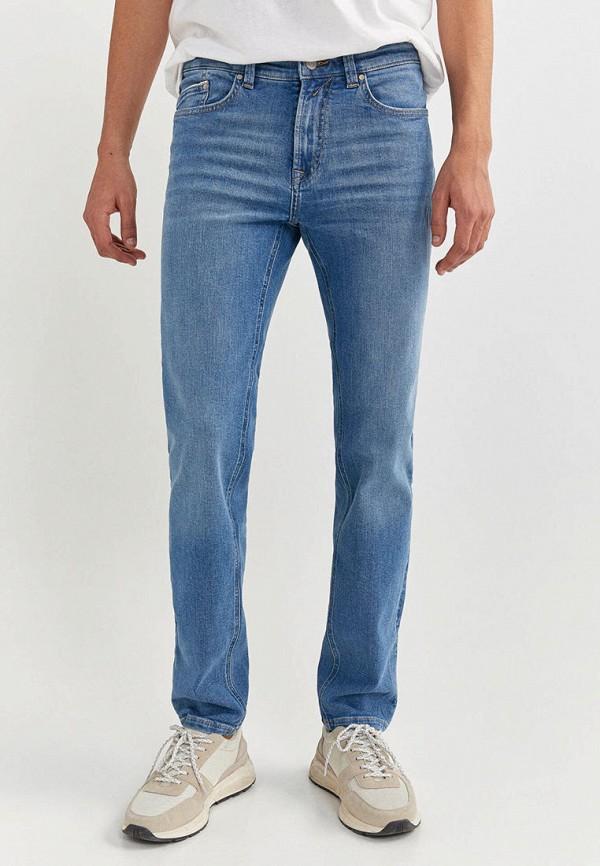 мужские прямые джинсы springfield, голубые