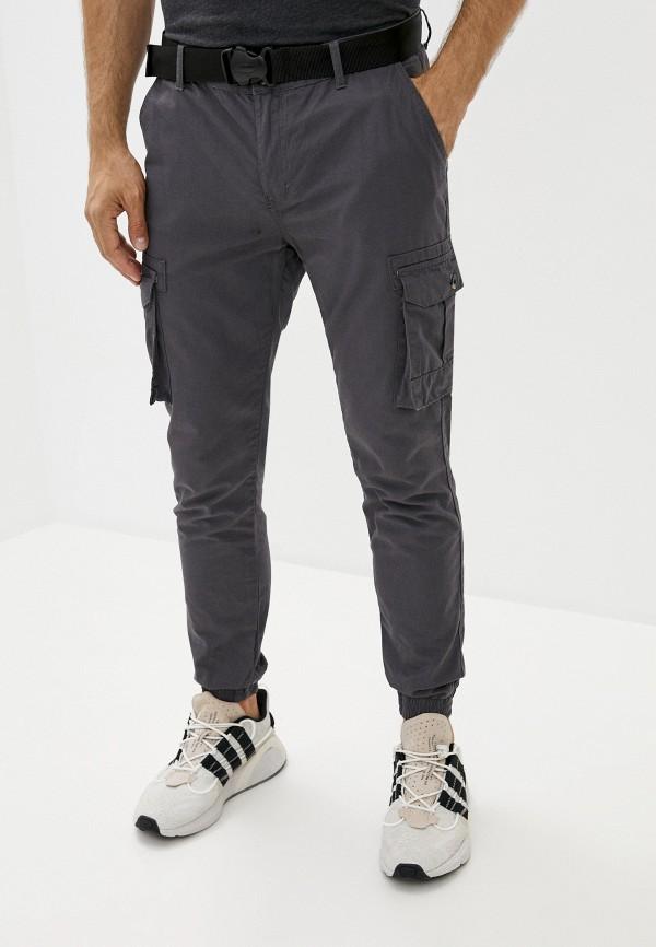мужские брюки карго defacto, серые