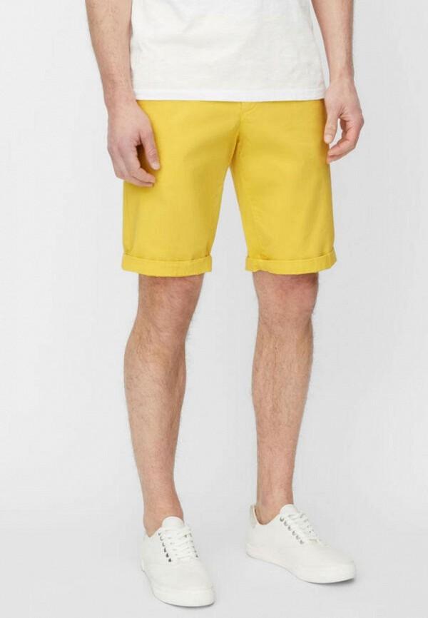мужские повседневные шорты marc o'polo, желтые