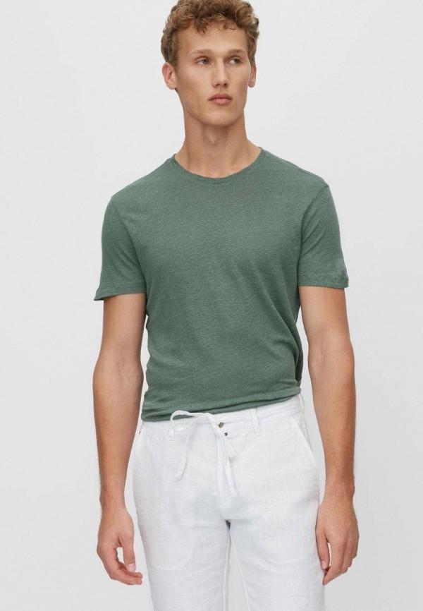 мужская футболка с коротким рукавом marc o'polo, хаки