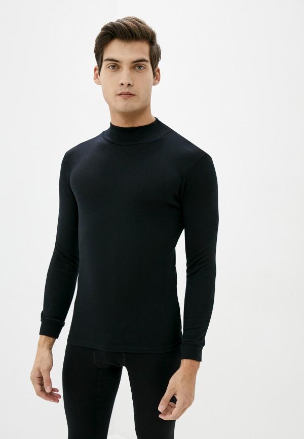 мужская водолазка norveg, черная