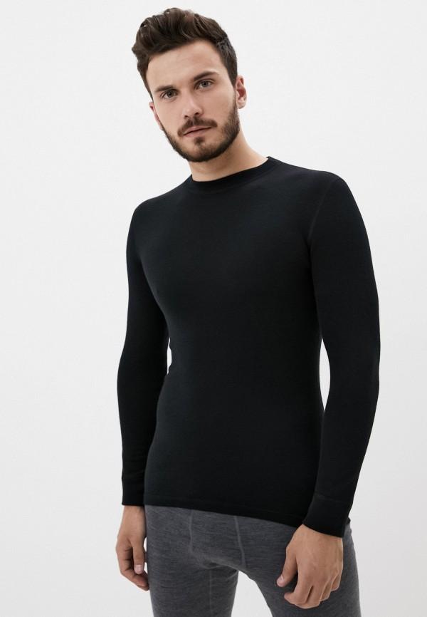 мужская спортивные футболка norveg, черная