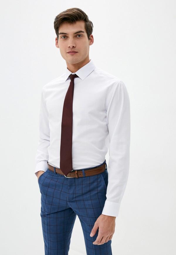 мужская рубашка с длинным рукавом bazioni, белая