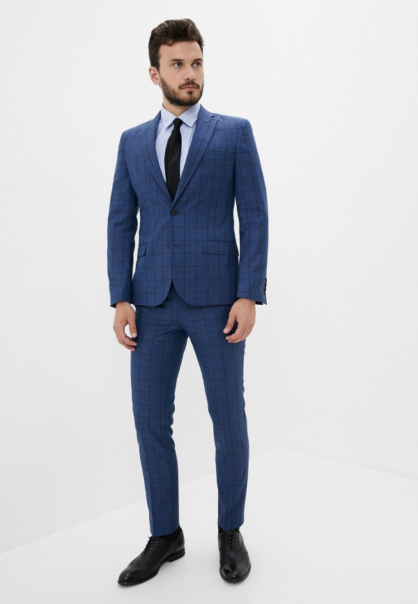 мужской классические костюм laconi, синий