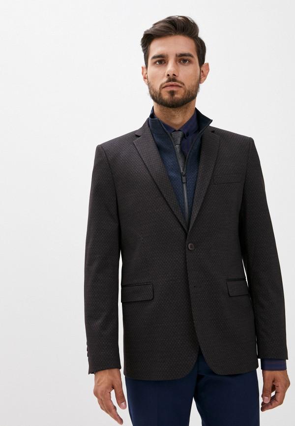мужской пиджак laconi, коричневый