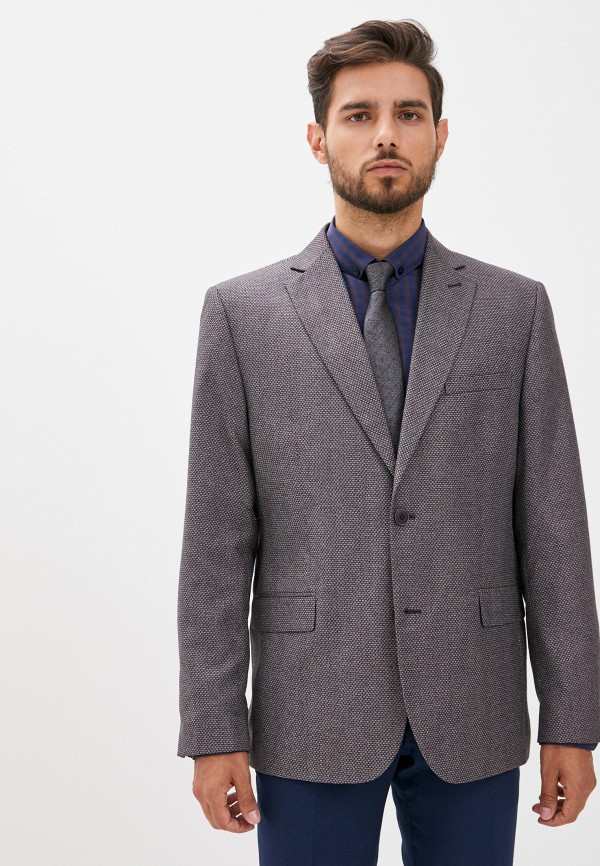 мужской пиджак laconi, бордовый