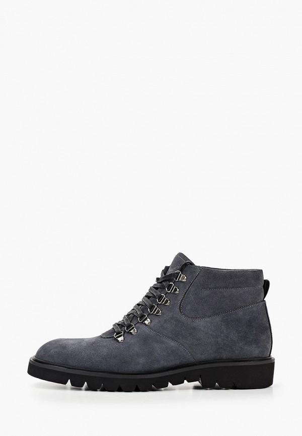мужские высокие ботинки vitacci, серые