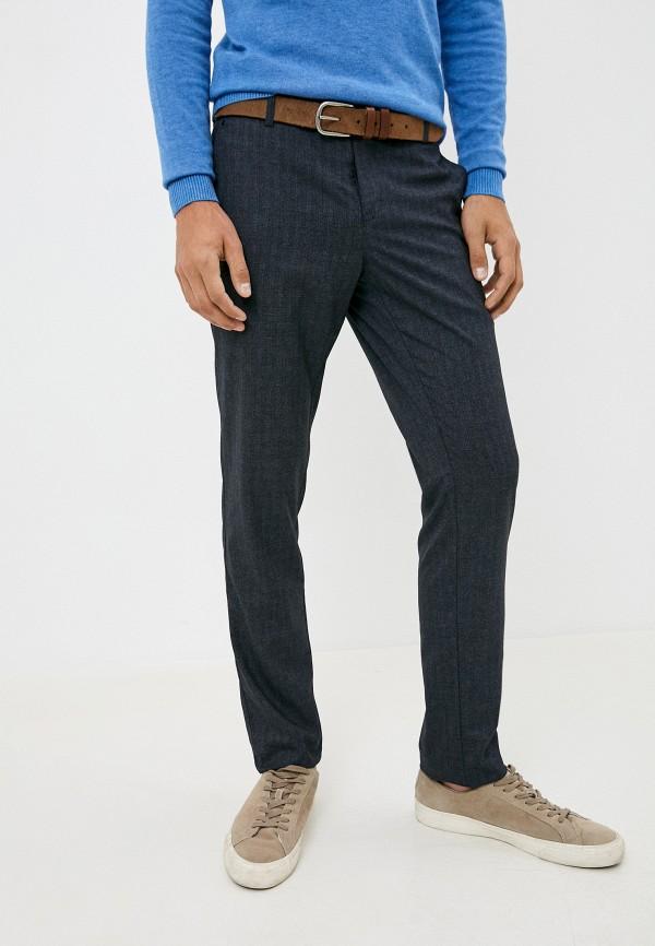 мужские зауженные брюки paspartu, синие