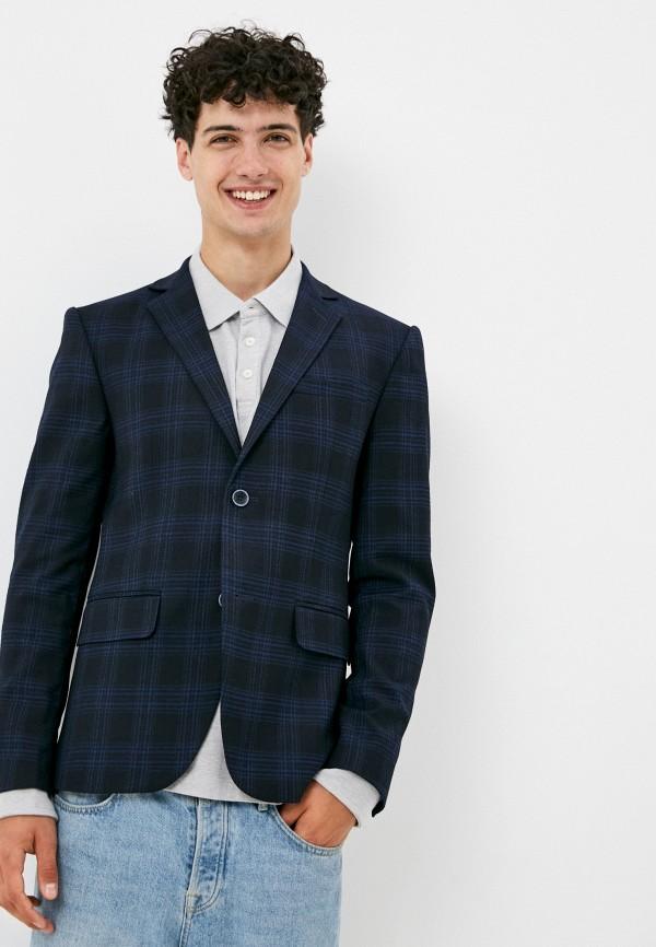 мужской пиджак paspartu, синий
