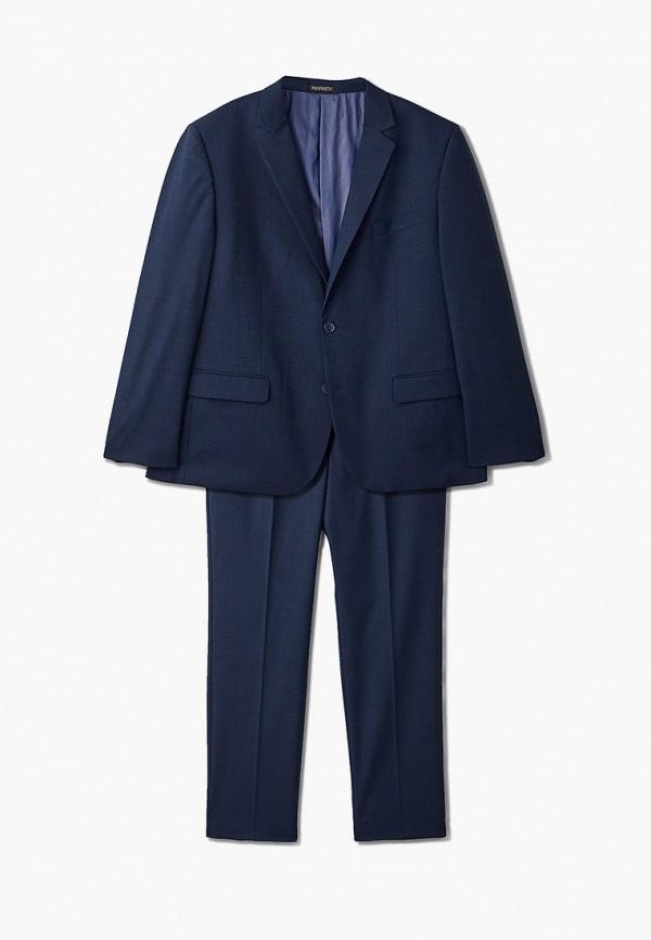 мужской классические костюм paspartu, синий