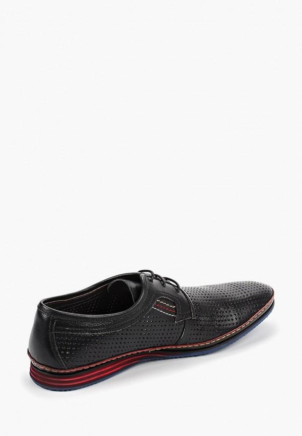 Фото 3 - Мужские туфли Airbox черного цвета