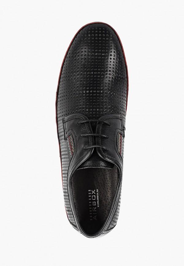 Фото 4 - Мужские туфли Airbox черного цвета