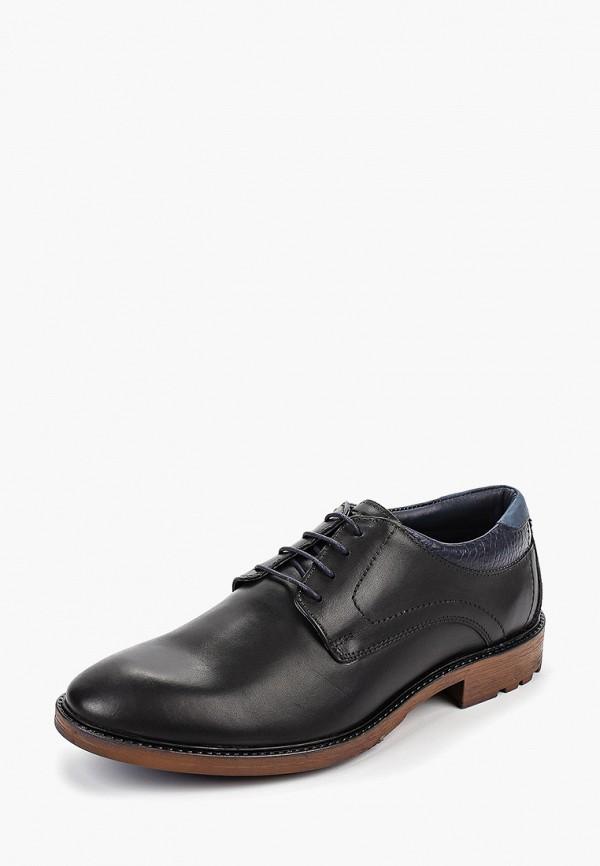 Фото 2 - Мужские туфли Airbox черного цвета