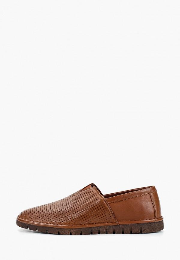 мужские мокасины franco bellucci, коричневые
