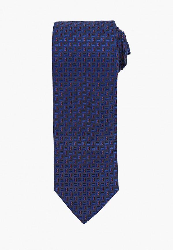 Фото - Мужской галстук Bazioni синего цвета