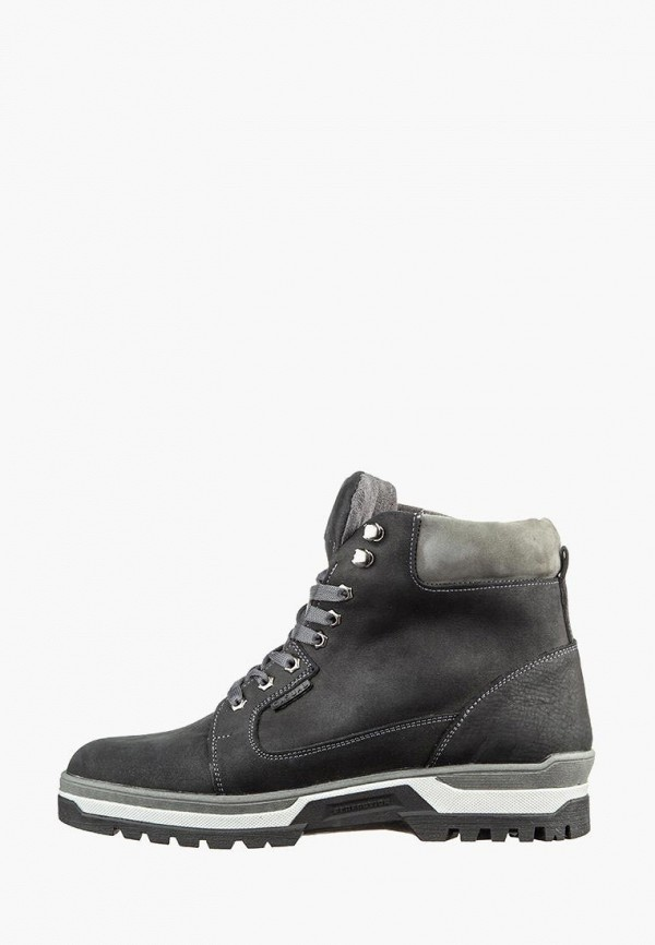 мужские ботинки casual, черные