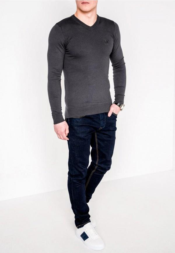 Пуловер Ombre цвет серый  Фото 2