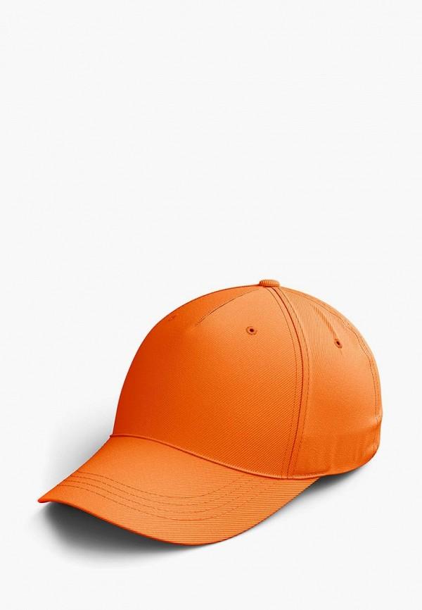 мужская бейсболка zeus, оранжевая