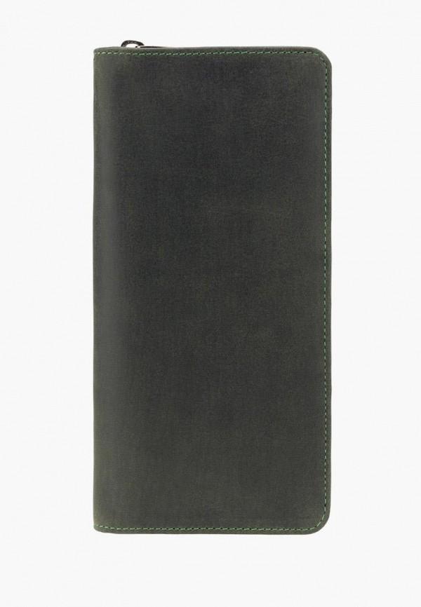 мужской кошелёк visconti, зеленый