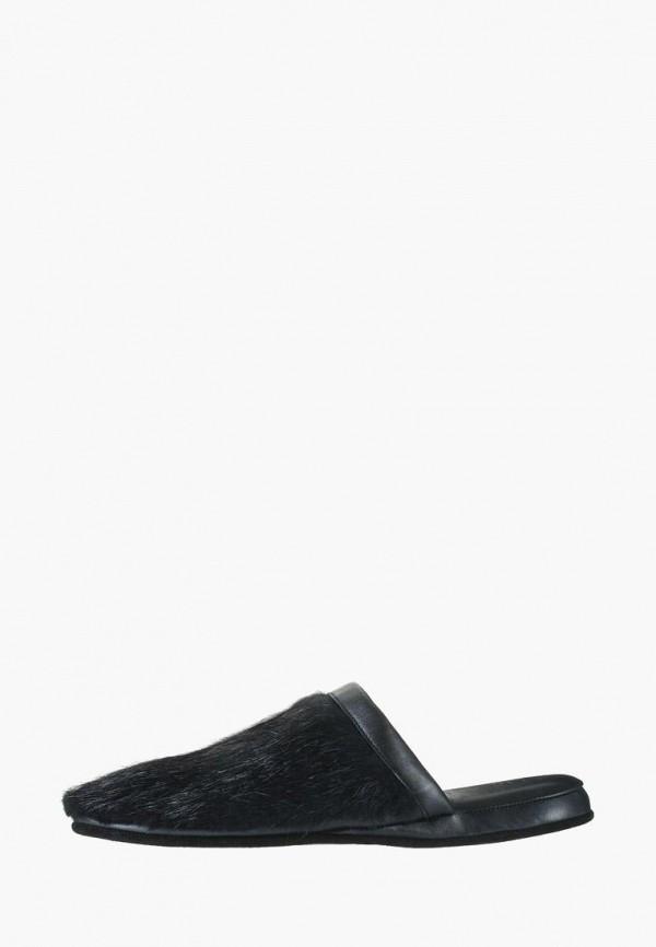 мужские тапочки litvin, черные