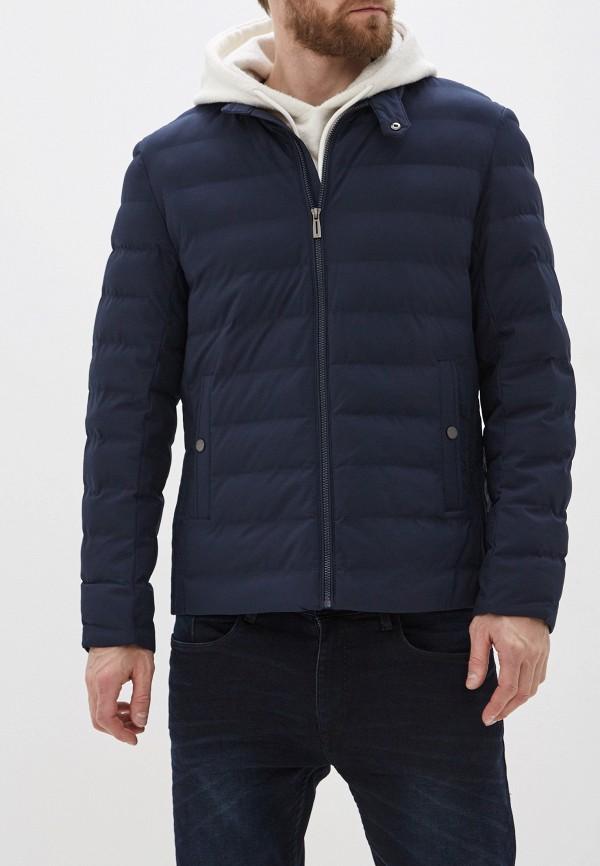 мужская утепленные куртка jorg weber, синяя