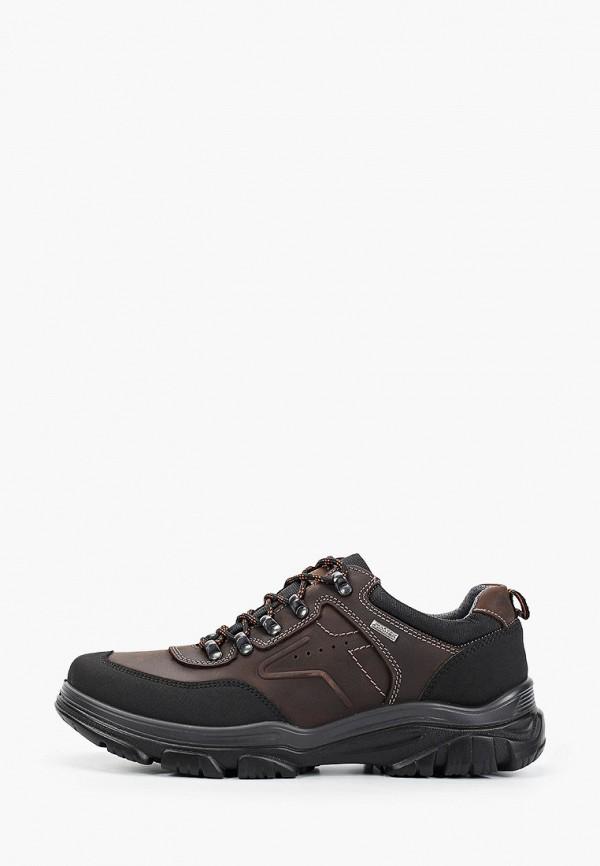 мужские низкие ботинки imac, коричневые