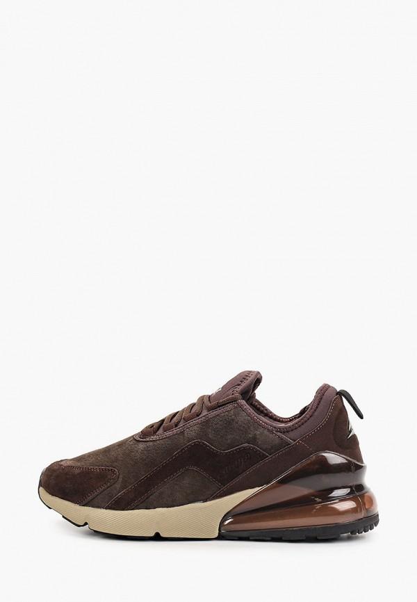 мужские низкие кроссовки sigma, коричневые