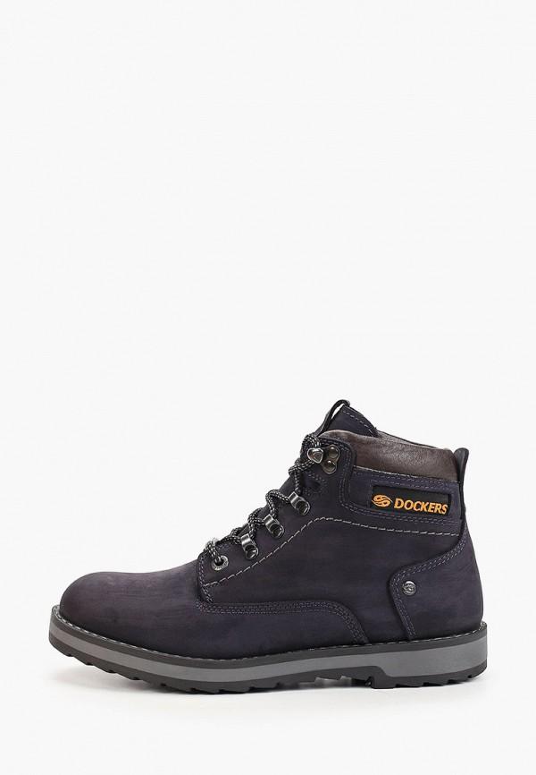мужские высокие ботинки dockers by gerli, синие