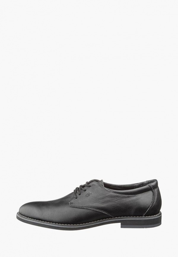мужские туфли casual, черные