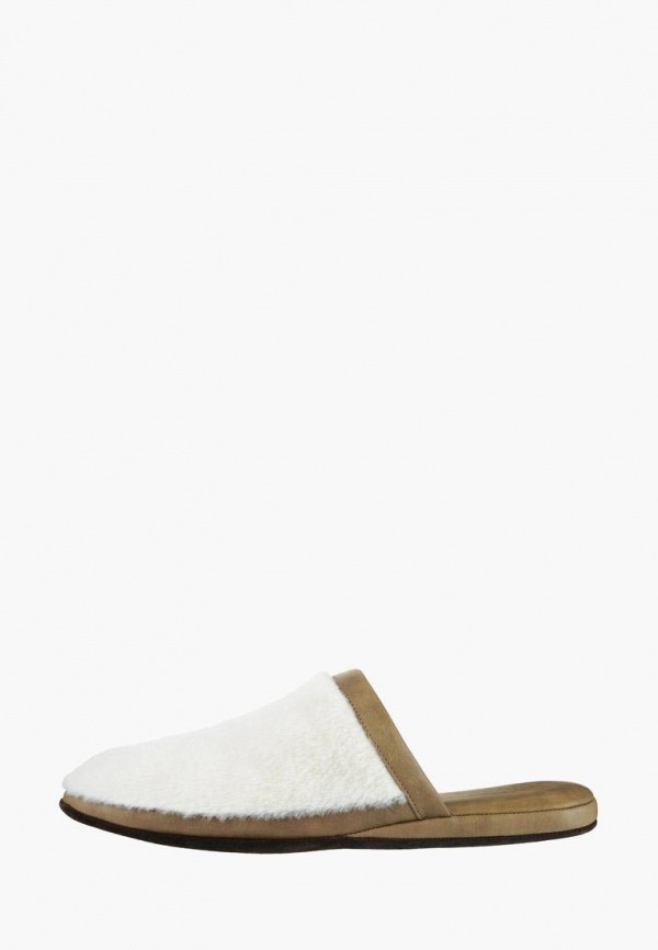 мужские тапочки litvin, белые