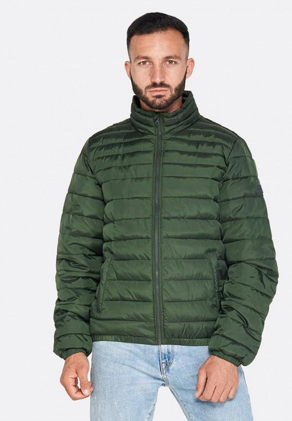 мужская куртка lotto, зеленая