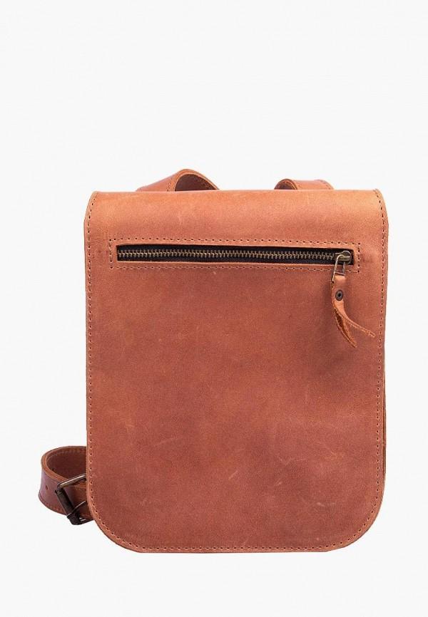 мужская сумка incarne, коричневая