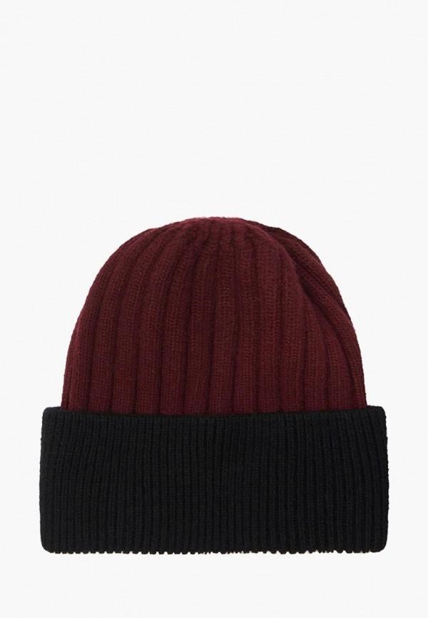 мужская шапка mellizos, бордовая