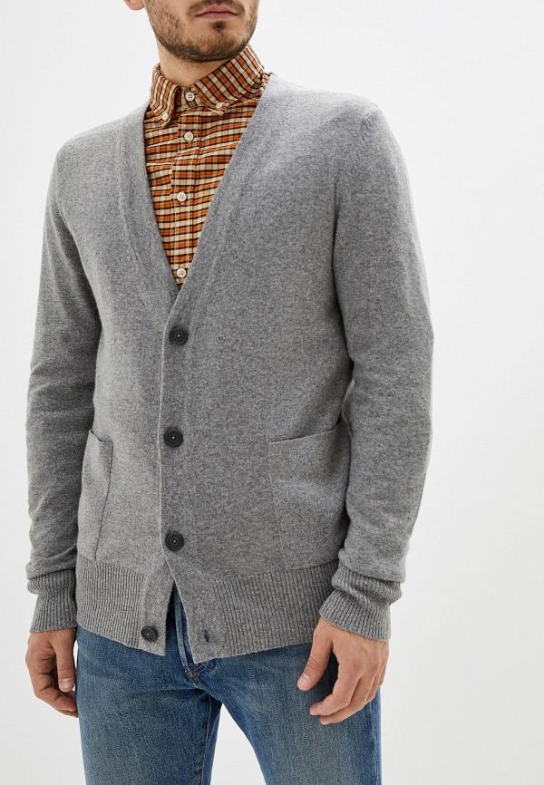 мужской кардиган drykorn, серый