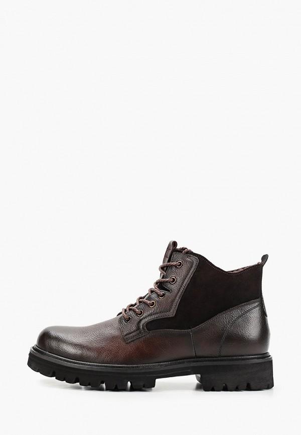 мужские высокие ботинки dino ricci, коричневые