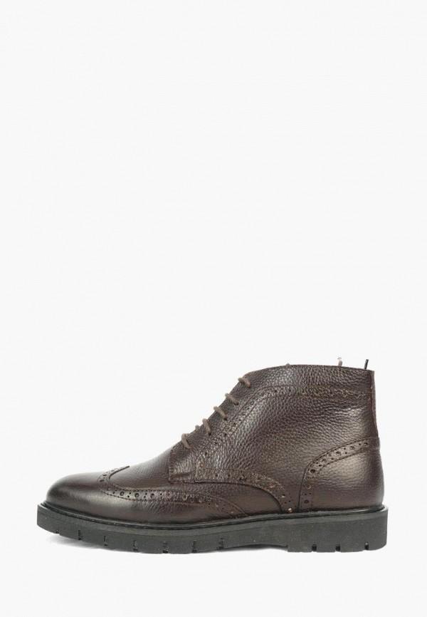 мужские ботинки shoes republic, коричневые