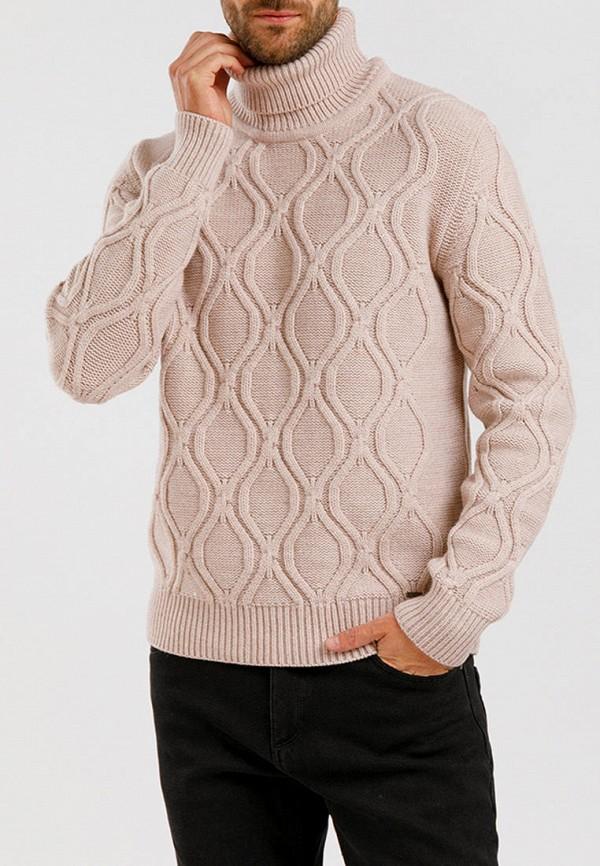 мужской свитер finn flare, бежевый