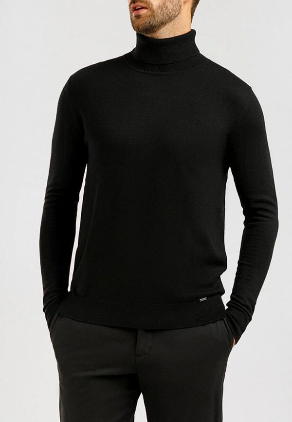 мужская водолазка finn flare, черная