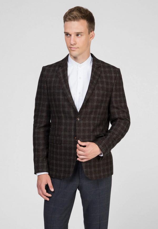 мужской пиджак navi, коричневый