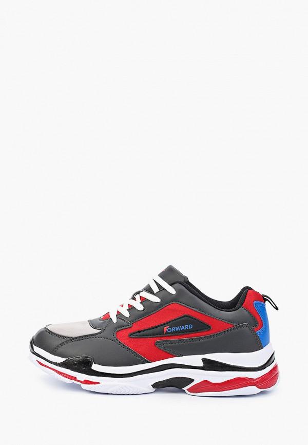 мужские низкие кроссовки forward, черные