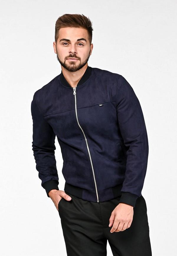 мужская куртка react, синяя