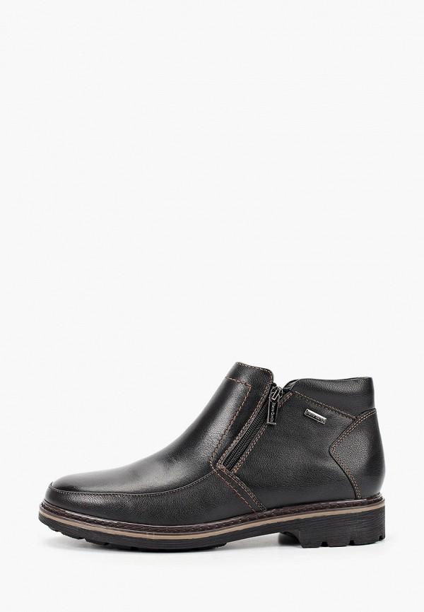мужские высокие ботинки pierre cardin, черные