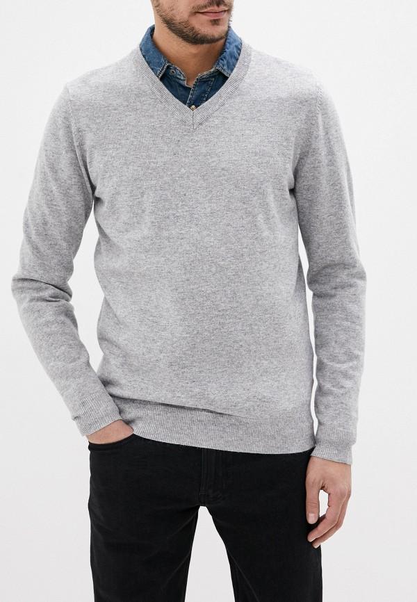 мужской пуловер tom farr, серый