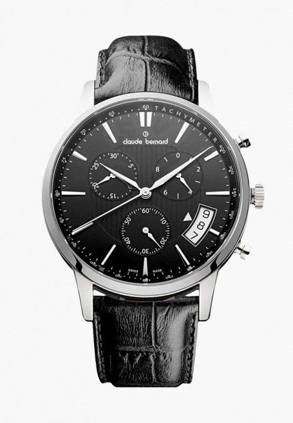 мужские часы claude bernard, черные