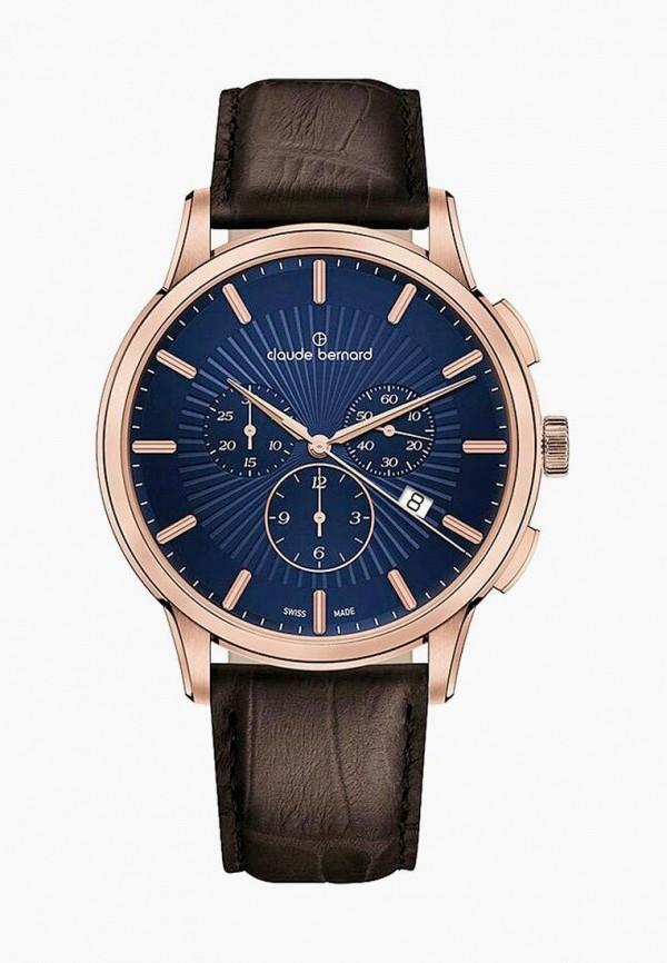 мужские часы claude bernard, коричневые