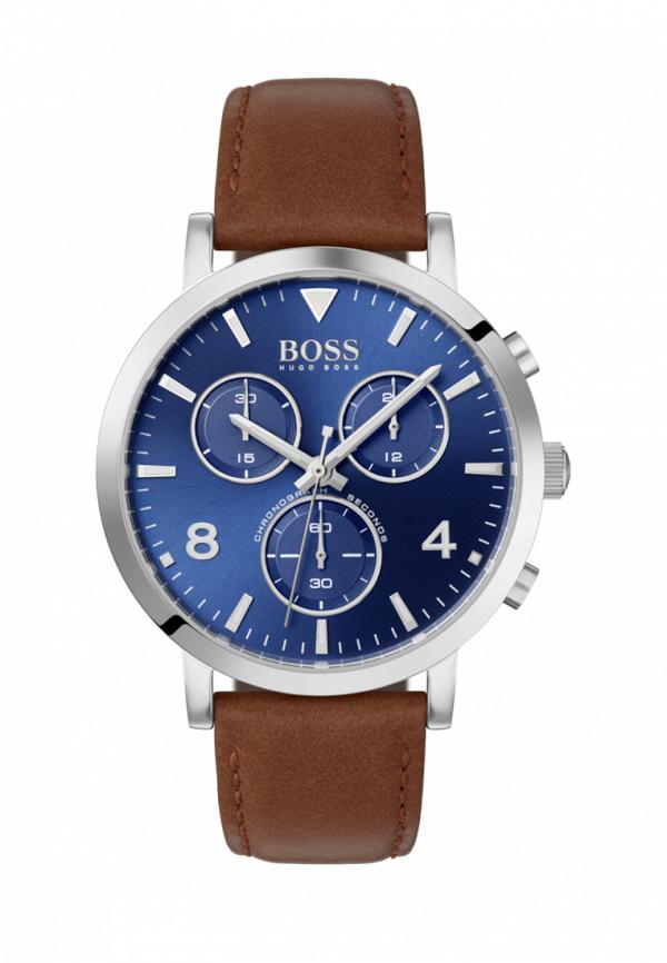 мужские часы hugo boss, коричневые